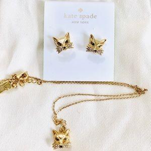 🌟SALE 🌟 Kate Spade So Foxy Fox Jewelry Set